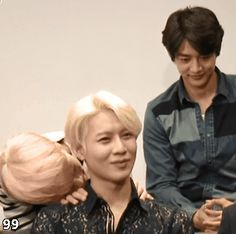 JongTae + Minho watching in jealously
