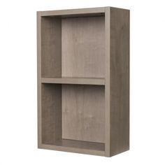 BestBathrooms Relax Oak Open Bathroom Side Cabinet