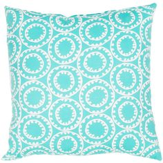 Veranda Pillow in Turquoise & Cloud Dancer design by Jaipur (53 CAD) ❤ liked on Polyvore featuring home, home decor, throw pillows, pillows, patterned throw pillows, outdoor toss pillows, outside home decor, turquoise throw pillows and striped throw pillows