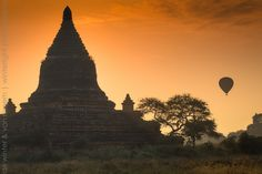 Temple in Central Plains of Bagan