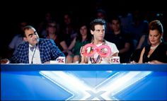 Mika and a balloon!  X Factor italy auditions