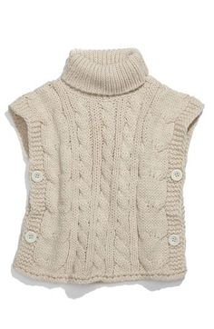 I'm thinking refashion from an adult sweater and make for a kid