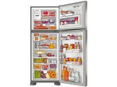 Geladeira/Refrigerador Brastemp Frost Free Duplex - 429L Ative! BRM50NK Platinum com as melhores condições você encontra no Magazine Nelson7272. Confira!