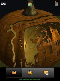 A creative way to carve a pumpkin on our Featured Free and Discounted Apps - 22nd October. Pumpkin 3D Magic