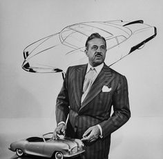 Raymond Loewy was a French-born American industrial designer who achieved fame for the magnitude of his design efforts across a variety of industries. Raymond Loewy, Famous Product Designers, Industrial Design Sketch, Design Movements, Famous Architects, Google Doodles, People Of Interest, Wassily Kandinsky, Icon Design