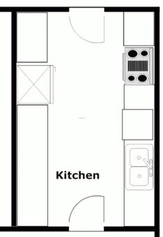 12+ Popular Kitchen Layout Design Ideas - DIY Design & Decor