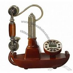 Sail Boat Antique Telephone