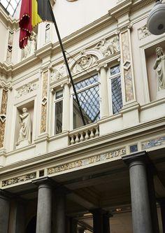 Hotel des Galeries, Galerie du Roi, 2, Bruxelles, Architectes Camille Flammarion Fleur Delasalle