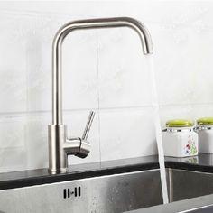 livraison gratuite robinets de cuisine en acier inoxydable dans  de  sur Aliexpress.com