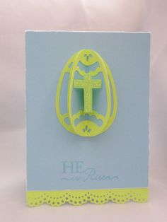 fb8262aef25a CTMH Art Philosophy CRICUT cartridge 3D egg and cross He is Risen He Is  Risen