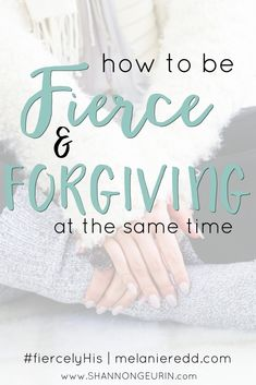 How can we be fierce and forgiving at the same time? All of us have relationships, friendships, and situations in which we get wounded. Even fierce women get hurt. How do we handle the pain? Here are some very wise and practical steps you can take to forg Christian Women, Christian Faith, Christian Living, Walk By Faith, Faith In God, Fierce Women, Women Of Faith, Christian Encouragement, Spiritual Growth