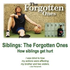 Siblings: The Forgotten Ones: How siblings get hurt.  (Click image above to take you to full post.) #addiction #recovery #Alanon #AA