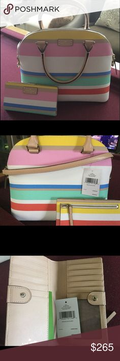 Spotted while shopping on Poshmark: Kate spade satchel! #poshmark #fashion #shopping #style #kate spade #Handbags