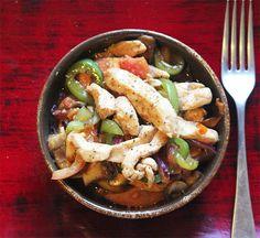 Thai Chicken and Pepper Stir Fry