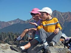 Tips for hiking with children