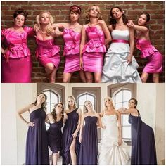 Bridesmaids picture that I WILL take in the future. My future bridesmaids better be down for it