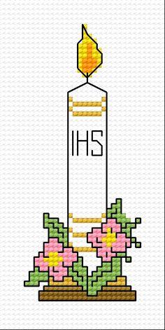 First Communion (candle, flower, keepsake, for children)
