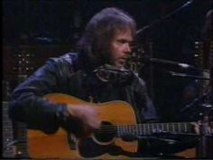 """Neil Young """"Unknown Legend"""" Unplugged 1993"""