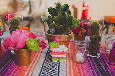 Des minis cactus multicolores..