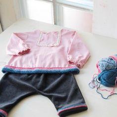 LAPLAND COLOURS Baby set by Kokoro Kotone Organic Baby Clothing www.kokorokotone.com