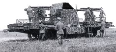 1918 trials of the A7V Flakpanzer anti aircraft tank