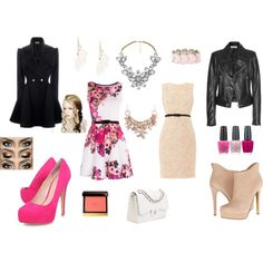 """""""Pretty in Pink"""" by twotwins on Polyvore"""