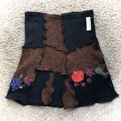 Upcycled Harvest Cotton Skirts! Getting ready for the Fall and Winter Season, just posted in my Etsy Shop.