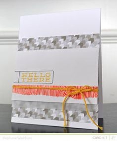 Hello There (Card Kit Only!) by StephWashburn at Studio Calico