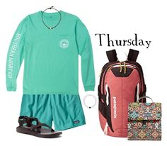 """""""Happy St. Patrick's Day  ~ 03.17.16"""" by babybutter ❤ liked on Polyvore featuring Patagonia, Chaco and Vera Bradley"""