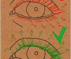 How to draw eyelashes Nail Design, Nail Art, Nail Salon, Irvine, Newport Beach