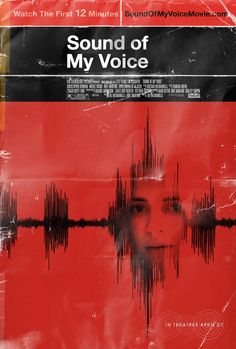 Artfully shabby poster for upcoming film 'Sound of My Voice'