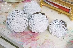 A Fanciful Twist: Let's Make Zinnia Flowers from Pine Cones!