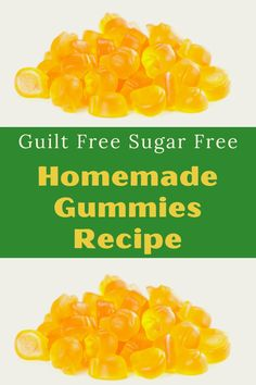 These healthy homemade gummy bears are great for the whole family not just the kids. These super easy gummies can even be made vegan and sugar free. With just 3 ingredients you can quickly make these gummies with this easy recipe. Homemade Gummy Bears, Homemade Gummies, Yummy Healthy Snacks, Healthy Treats, 3 Ingredients, Raw Food Recipes, No Cook Meals, Sugar Free, Super Easy