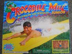 Crocodile Mile Slip 'N Slide #retro #toys #80s