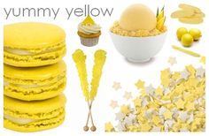 we should've found this earlier! Yellow Desserts, Yellow Foods, Yellow Candy, Mellow Yellow, Color Yellow, For Love And Lemons, Dessert Table, Food For Thought, Soul Food