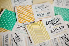 Angela and Evan Photography - Business Card Design Inspiration Graphic Design Branding, Corporate Design, Business Card Design, Typography Design, Collateral Design, Brand Identity Design, Business Card Maker, Unique Business Cards, Creative Business