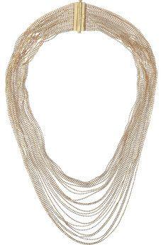 Carolina Bucci 18-karat gold multi-strand necklace   NET-A-PORTER