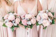 Today we're sharing with you a gorgeous wedding in Kefalonia, Greece. Emma and Alexander get married in a beautiful, greenery scenery full of vibrant Wedding Bridesmaid Dresses, Wedding Bouquets, David Austin Roses, Wedding Coordinator, Bridal Looks, Got Married, Destination Wedding, Lily, Pastel Colours