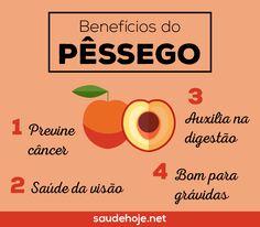 Pêssego: os incríveis benefícios à saúde
