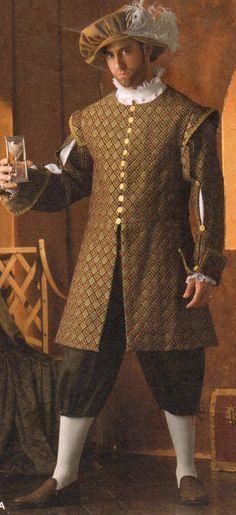 Men's Italian Renaissance Costume by TheHouseOfZuehl on Etsy, $125.00