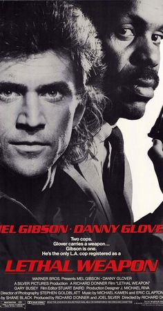 Directed by Richard Donner.  With Mel Gibson, Danny Glover, Gary Busey, Mitchell Ryan. A veteran cop, Murtaugh, is partnered with a young suicidal cop, Riggs.…
