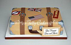 Bon Voyage Suitcase Cake | Flickr - Photo Sharing!