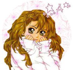 Alfabeto niña dulce con estrellas. | Oh my Alfabetos!