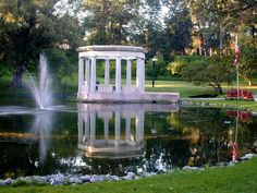 Congress Park, Saratoga Springs; a beautiful park down the street from the Saratoga State Park