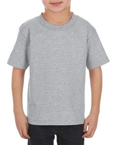 Athletic Heather (90% Cotton + 10% Polyester)- 3383 Alstyle Classic Juvy Tee | T-shirt.ca