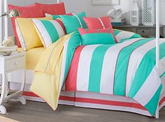 Southern Tide 68-Inch by 90-Inch Cabana Stripe Comforter Set, Twin Southern Tide http://smile.amazon.com/dp/B00EPPG3MA/ref=cm_sw_r_pi_dp_p2pEvb1QEVJA6