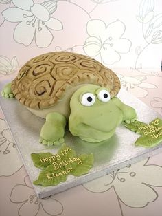 Tortoise by The Fairy Cakery, via Flickr