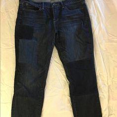 Lucky Brand Patchwork Charlie Skinny Jeans NWOT Lucky Brand Patchwork Charlie Skinny jeans. Lucky Brand Jeans Skinny