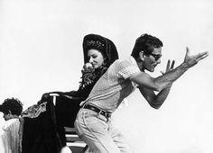 Pierpaolo Pasolini e Maria Callas