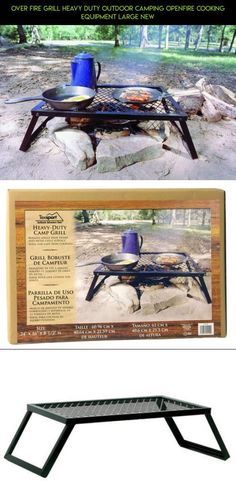 Over Fire Grill Heavy Duty Outdoor Camping openfire Cooking Equipment Large New #plans #technology #products #parts #outdoor #fire #racing #gadgets #tech #over #shopping #kit #camera #fpv #cooking #drone